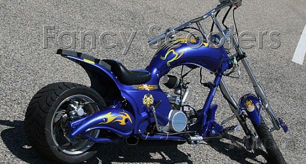HarleyDavidson KOPIJA midi chopper FANCY SCOOTER CHOPER 125CC