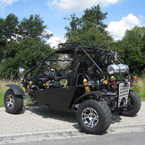 Goka 650cc Buggy - Črn