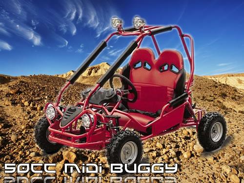 50cc mini Buggy 3,5 PS | 35 km/h | Automatik