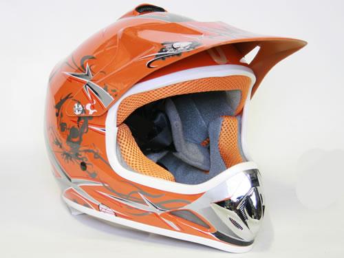Xtreme otroška čelada sport oranžna