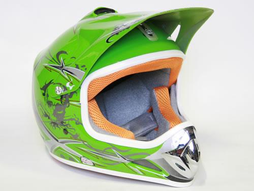 Xtreme otroška čelada sport zelena
