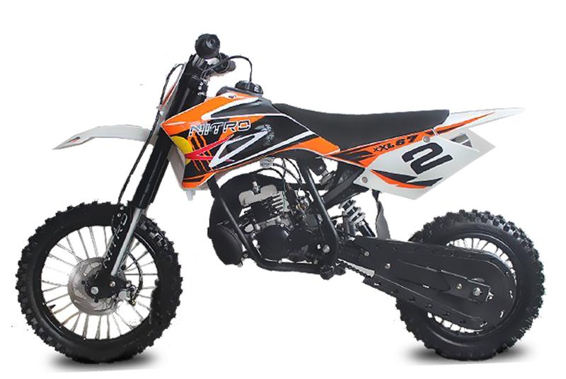 49cc NRG50 XL RACING Dirtbike 14/12 hidravlične zavore