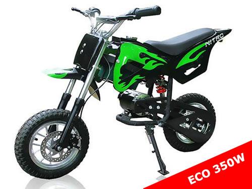 350W ECO DIRTBIKE D67 mit Elektro