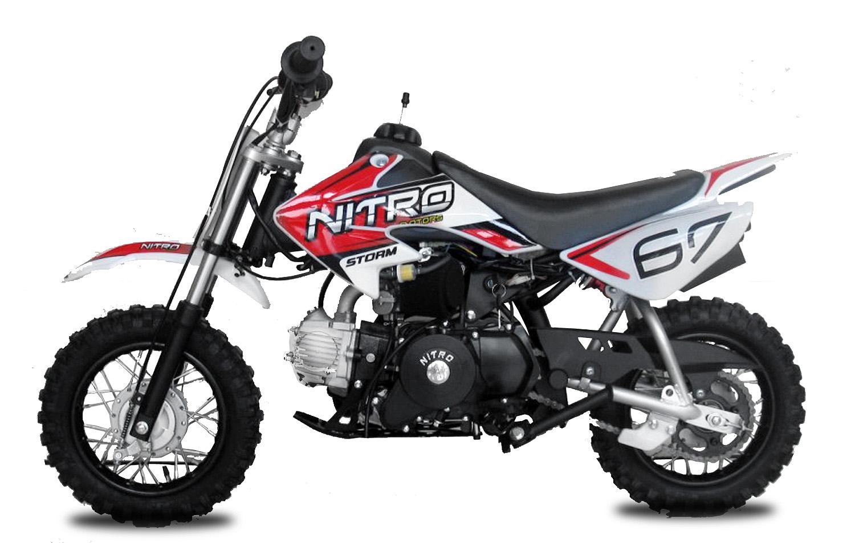 90cc STORM Dirtbike | Automatic | 10/10