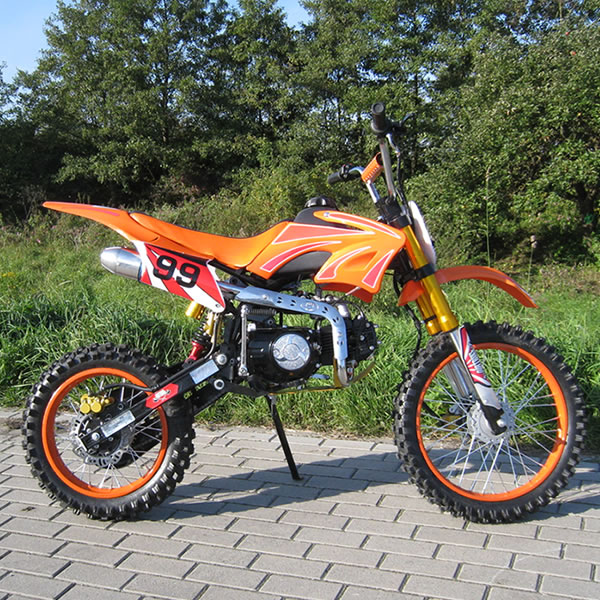 CROSS Dirtbike JC 125cc KROS MOTOR LONCIN ORION 99 17 14 KOLESA XL