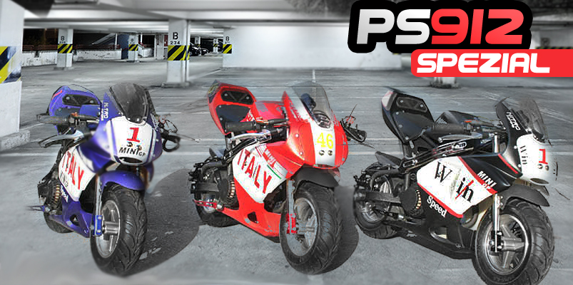 49cc RACING POCKET BIKE PS912 posebno barvo