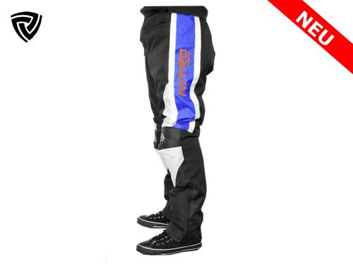 NITRO  motoristične hlače modre