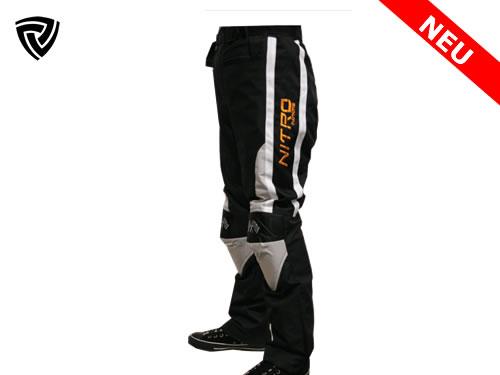 NITRO  motoristične hlače črne