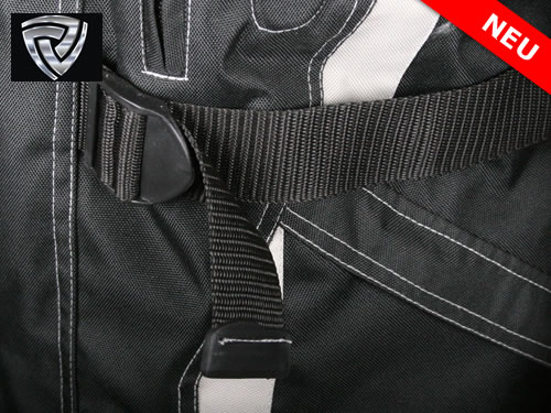 NITRO  motoristična jakna + ostalo črna