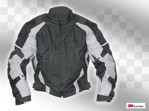NITRO motoristična jakna črna