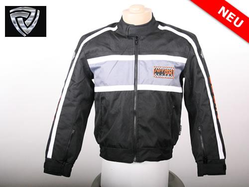 NITRO motoristična jakna športna črna