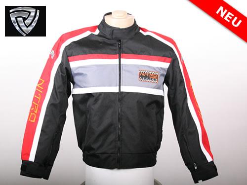 NITRO  motoristična jakna športna rdeča