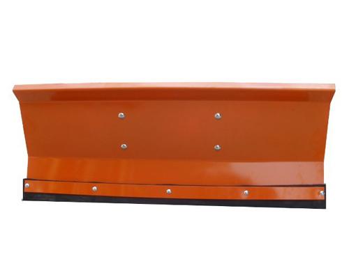 Univerzalni snežni plug za motokultivator ali vrtni traktor v oranžni barvi 175x40 cm