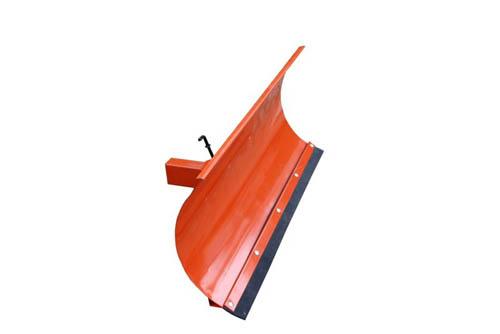 Univerzalni snežni plug za motokultivator ali vrtni traktor v oranžni barvi  125x40 cm