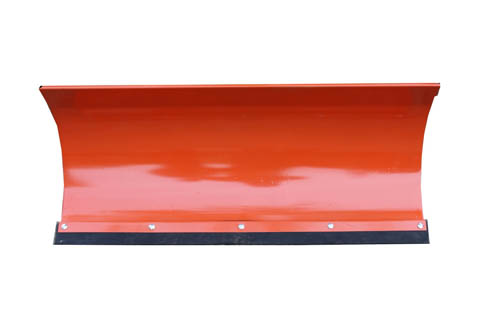 Univerzalni snežni plug za motokultivator ali vrtni traktor v oranžni barvi 150x40 cm