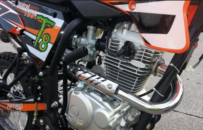 150cc Hurricane Dirtbike 19/16 5-stopenjski Ročni 19/16 E