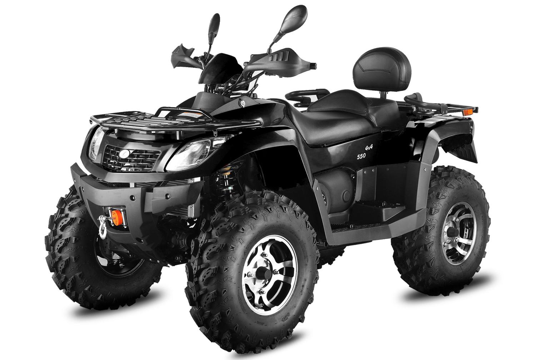 550cc Hunter 550-SXL / 4X4 / vitel/ 4x vzmeti