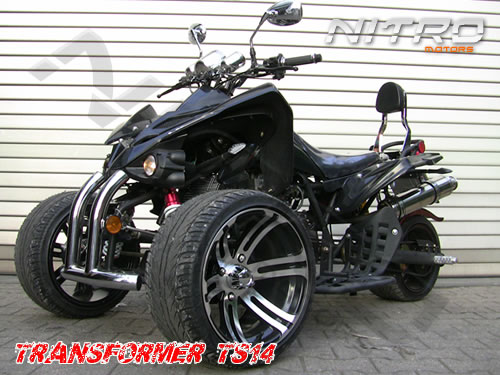 250cc TRIBIKE TR14 5-Gang+RG