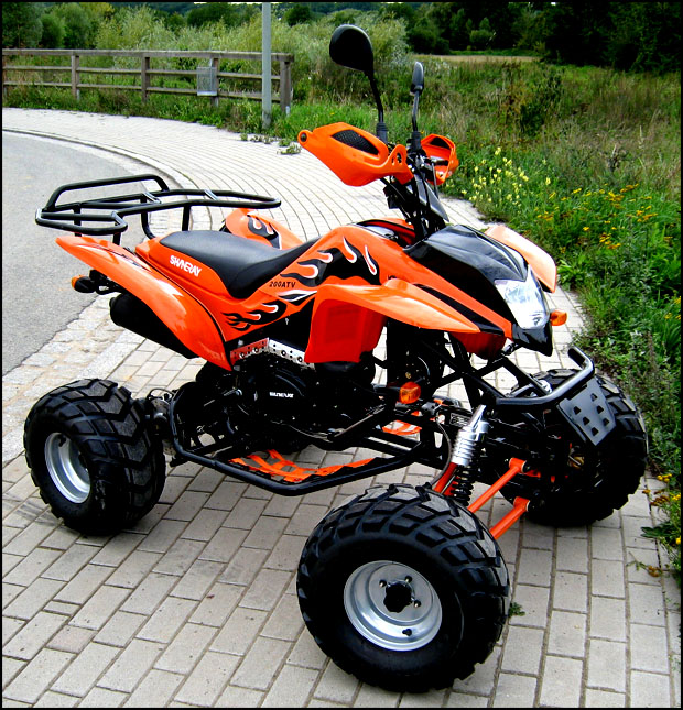 Shineray 200cc COC XY200STIIE-B Quad ATV